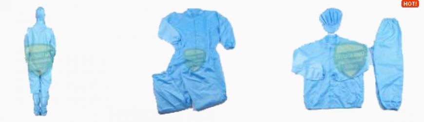 Quần áo phòng sạch - Chống tĩnh điện