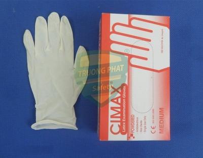 Gang tay cao su y tế pink care