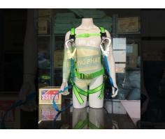 Dây an toàn toàn thân SSEDA 2 móc nhôm Hàn Quốc SAH-1024-3
