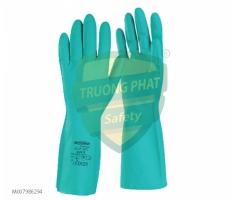 Găng tay Sumitech chống hóa chất Nitrile GT-F-07C