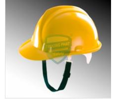 Mũ bảo hộ Thùy Dương không núm màu Vàng MS-103