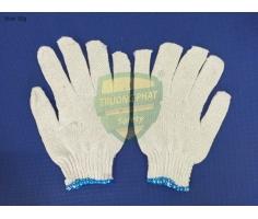 Găng tay sợi cổ xanh Blue 30G