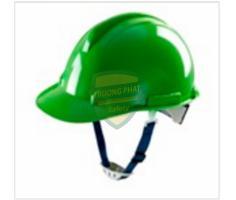 Mũ bảo hộ thùy Dương màu xanh green có núm vặn MS-404