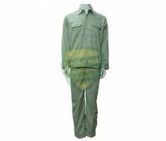 Quần áo kaki Nam Định may sẵn - màu ghi đá