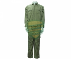 Quần áo Kaki Nam Định may sẵn - Mầu xi măng